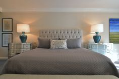 Amy Gibbs Interiors Bedroom Master Dallas Suite