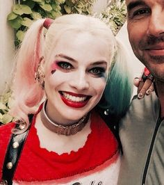 harley quinn, suicide squad, and margot robbie image Arlequina Margot Robbie, Margot Robbie Harley Quinn, Margo Robbie, Harley Quinn Cosplay, Joker And Harley Quinn, Gotham, Laura Gilbert, Harely Quinn, Univers Dc