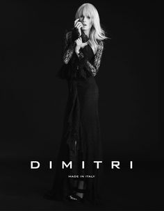 DIMITRI Fall Winter 2014 campaign #lace #dress #gown