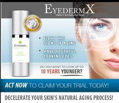 Eyederm X Review – Products Like This? #skincare #beauty #antiagingcream #agedefyer #skincaretips