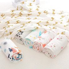 3pc Muslin 100 Cotton Baby Blankets Swaddles 110 110cm Newborn Bath Gauze Infant Wrap Sleepsack Stroller Cover Pla Cotton Baby Blankets Baby Wraps Cotton Baby