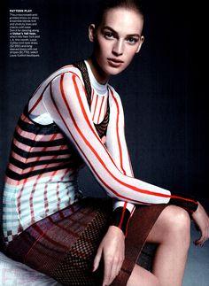 Vanessa Axente by Karim Sadli in Louis Vuitton VOGUE US NOVEMBER 2014