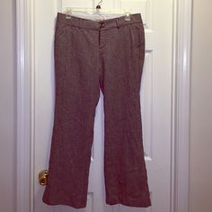 """EUC Old Navy Size 14 Wool Lined Trousers EUC Old Navy Size 14 Wool Lined Trousers. Lying flat, they measure 18"""" across waist with a 30"""" inseam.  Perfect for anyone who freezes in the office;). Old Navy Pants Trousers"""