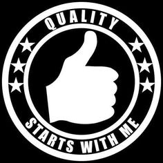 Quality Starts With Me Union Worker,Laborer,Manager,Hard Hat decal sticker #TheVinylShop