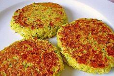 Vegetarische Zucchini Couscous Frikadellen - Leicht im Sommer und trotzdem herzhaft *** Summer Veggie Burger courgettes couscous
