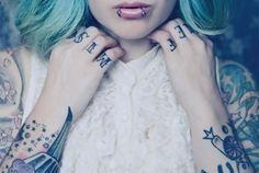 via @Brad Richardson ~ double #pierced #lip ~ that would feel amazing ... #justsayin ...