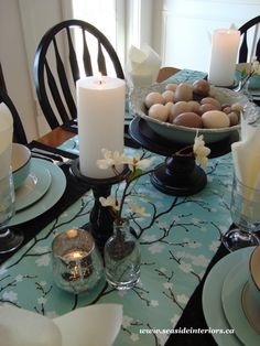 My Favorites Friday #6 ~ Easter Centerpieces and Tablescapes | Organizing Homelife