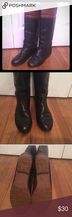 Vintage LL Bean Leather Riding Boots Vintage LL Bean leather riding boots. Size 5.5. Love them, but they are just a bit too small for me. L.L. Bean Shoes
