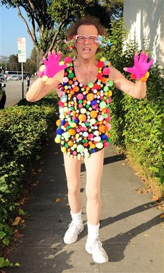 Richard Simmons' new workout clothing line.