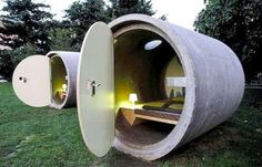 These pods could be amazing if more imaginative textiles were used