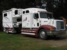 Big rig, truck hauler & camper in one