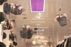 The Covent Garden, window display, sping 2015, www.paperdolls.fr