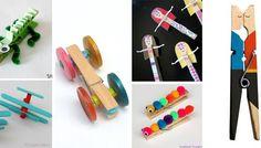 Quick Crafts, Craft Stick Crafts, Fun Crafts, Arts And Crafts, Paper Crafts, Craft Ideas, Diy For Kids, Crafts For Kids, Market Day Ideas