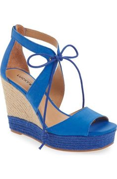 c46e8dfebed5 Lucky Brand  Listalia  Sandal (Women) available at  Nordstrom Lace Up High