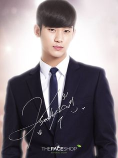 cool [CF] Actor Kim Soo Hyun is the New Ambassador for 'THE FACE SHOP' 2014