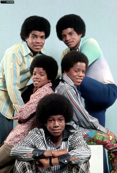 Tito, Jackie, Michael, Marlon and Jermaine Jackson Tito Jackson, The Jackson Five, Jermaine Jackson, Jackson Family, Black Celebrities, Celebs, Michael Jackson Bad Era, The Jacksons, Mickey Mouse And Friends