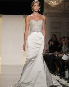My favorite dress from Lazaro spring 2012 collection...understated elegance!