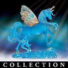 Fantasy Unicorn Figurine Collection Features...