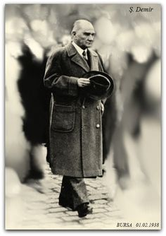 Atatürk Bursa'da 01.02.1938 Ulsan, World Peace, Jon Snow, Father, Fictional Characters, Jhon Snow, Pai, John Snow, Fantasy Characters