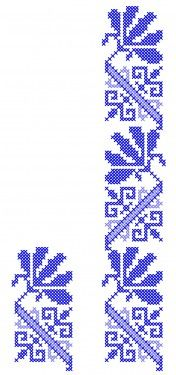 Poze MP422 Cross Stitching, Cross Stitch Patterns, Diy And Crafts, Folk Art, Embroidery, Knitting, Traditional, Straight Stitch, Towels