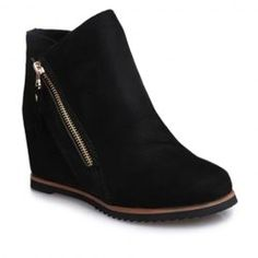 Boots For Women: Black Ankle Boots & Wedge Boots Fashion Sale Online | TwinkleDeals.com