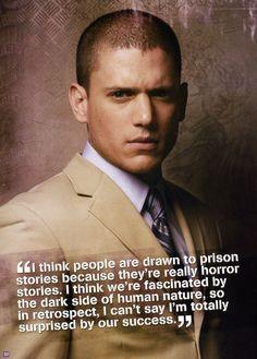 famous prison break quotes | ... in the December 2006/January 2007 issue of Prison Break Magazine