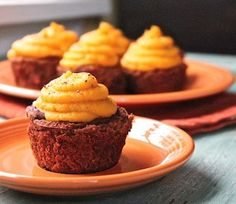 """""""MeatLoaf"""" Cupcakes topped with Butternut Squash... 