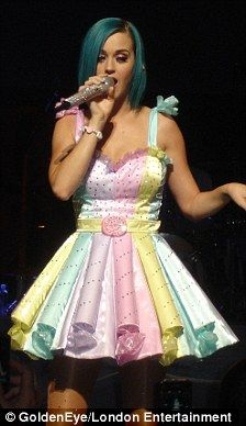 Katy perry candy costume