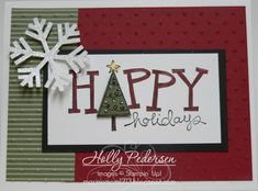Big on Christmas by crazy4stampin1213 - Cards and Paper Crafts at Splitcoaststampers