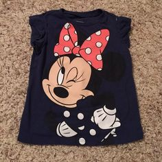 Minnie Mouse shirt 18-24 months If bundles I can give a great deal hardly worn.  Size 18-24 months Accessories