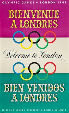 Clement Dane Studio, Olympic Games, Welcome to London