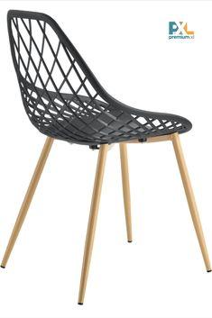 Elegantné a štýlové dizajnové plastové stoličky Warschau ABCS-3506 sa hodia k jedálenskému stolu, do pracovne, haly, či čakárne alebo zasadačky. Výška: 83 cm, šírka: 48 cm, hĺbka: 58 cm, výška sedáku: 45 cm. Sedák: čierny plast (PP), nohy stoličiek: kov, dekor buk. 2 ks balenie, produkt značky [en.casa]