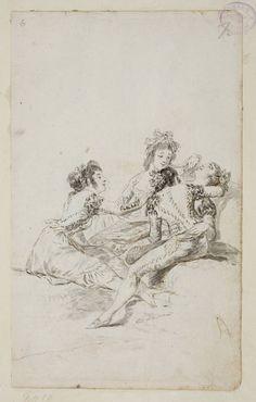 Francisco de Goya en El Prado: El desmayo en el campo