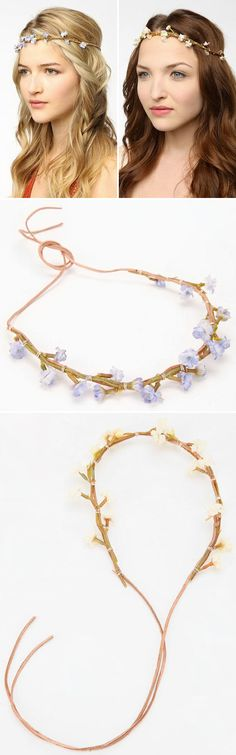 """DIY HEADWRAP: Gardenhead Princess Halo Headwrap: $24 