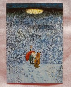 For more than 30 years the Swedish artist Jan Bergerlind has worked as a professional illustrator. His pictures illustrate short stories, novels, advertising brochures, books, newspaper articles, posters, collectors plates, Christmas cards etc.