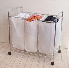 Suport cromat pentru Cos de rufe Nova Hamper, Nova, Laundry, Organization, Home Decor, Products, La Perla Lingerie, Laundry Room, Getting Organized