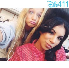 """Photos: Mollee Gray With Her """"Teen Beach Movie 2″ Co-Stars July 30, 2014"""
