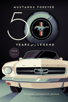 Mustangs Forever: 50 Years of a Legend (Petersen Automotive Museum) Ford Mustang History, Ford Mustang 1964, Ford Mustang Car, 1964 Ford, Ford Mustangs, Retro Cars, Vintage Cars, Bicicletas Raleigh, Ford Mustang Wallpaper