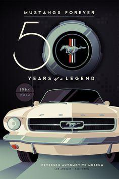 "Petersen Automotive Museum : ""Mustangs Forever"" - Tom Whalen"