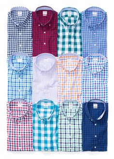 Crisp and colorful shirts make perfect gifts for guys. #mensfashion #giftideas #holiday