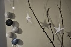 DIY Paper Stars Paper Stars, Diy Paper, Create, Projects, Home Decor, Log Projects, Blue Prints, Decoration Home, Room Decor