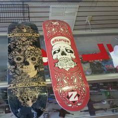 Just got more ztuntz decks. Come get them fast they wont last long open tonight til 830!!#ztuntzskateboards