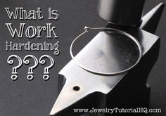 Work hardening is a very important concept in making metal and wire jewelry. This article explains what work hardening means and how it works!