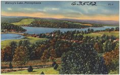 Harvey/'s Lake PA Photo Postcard Group Family Photo