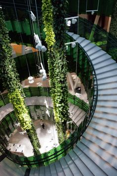 Shopping feels like walking in the Park! Emporia shopping centre in Malmö by Wingårdhs / swedish firm wingardhs beautifully blends nature and space, echoing a sense of sustainability through grenery and simplicity. the reduction of unnecessary elements