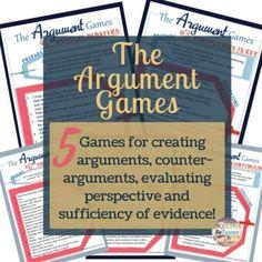 Argument Analysis Regifting  Language Arts School And Language