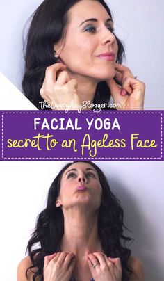 Slow down the onset of the first signs of aging with these Method - You simply need to get in the habit of practicing these moves every day to firm sagging jaw, neck & throat or double chin also good in toning your face and warding off crow's feet. Face Yoga Exercises, Facial Muscle Exercises, Sagging Face, Face Yoga Method, Double Chin Exercises, Neck Yoga, Natural Face Lift, Facial Muscles, Face Massage