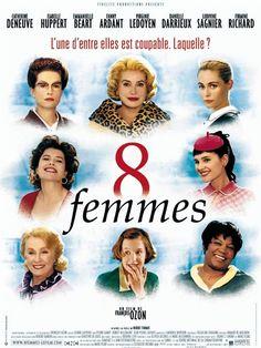 8 femmes : affiche