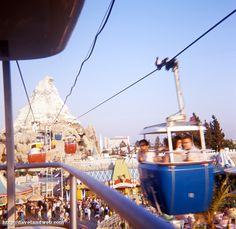 Disneyland Skyway, the good old days