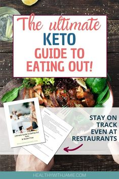 Eating Out Keto Friendly and Gluten Free - Healthy with Jamie Weight Loss Drinks, Weight Loss Smoothies, Gluten Free Restaurants, Keto Friendly Desserts, Low Carb Breakfast, Breakfast Ideas, Breakfast Recipes, Gluten Free Diet, Dairy Free